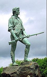 WordPress Minuteman Statue