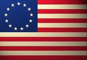 WordPress picture Thirteen Colonies Flag
