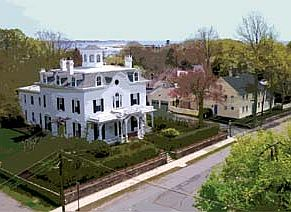WordPress picture Colonial Home:  New England