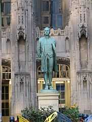 WordPress picture Nathan Hale Statue