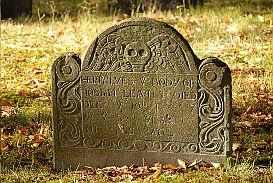 WordPress picture, New England's Oldest Gravestone
