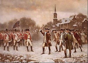 WordPress Picture Robert Hess Minuteman American Revolution Scene.