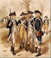 WorpPress Picture, Robert Hess Minuteman American Revolution Scene.