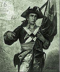 WordPress Picture Robert Hess Minuteman American Revolution.